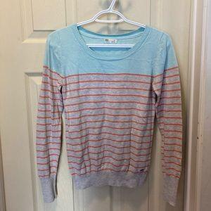 3/20 garage striped sweater size medium
